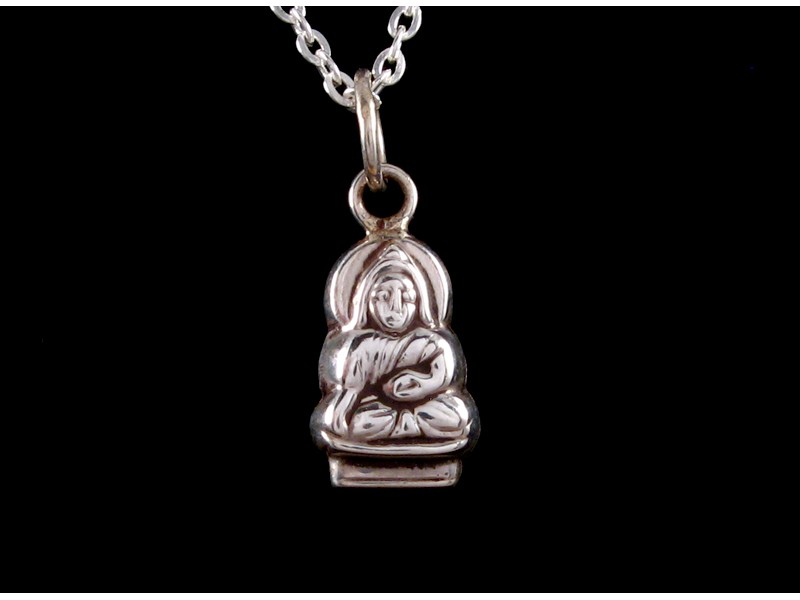 51fec2023b595 PA222 Pendentif Argent Massif Bouddha ~ Bijou Argent ~ Bijou ...
