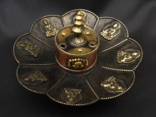 BE43 Brûle-Encens Bougeoir Bouddha
