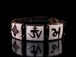 BrD201 Bracelet Tibétain Mantra