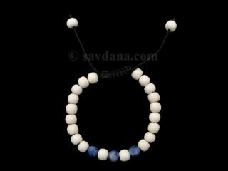 BrMalaEnfant02 Bracelet Mala Bois Sodalite