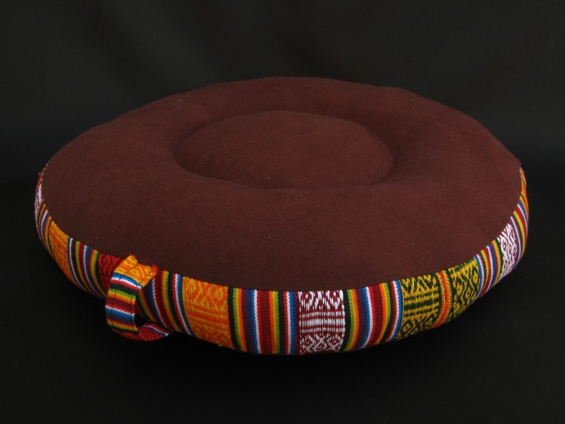 zafu23 zafu coussin de m ditation artisanat tib tain coussin yoga. Black Bedroom Furniture Sets. Home Design Ideas