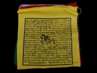 DP21 Drapeaux de Prières Tibétains en coton 8,5 m