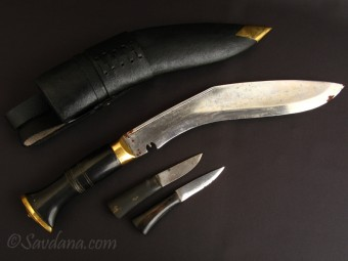 CN08 Couteau Népalais Khukuri