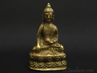 St80 Statue Bouddha Laiton