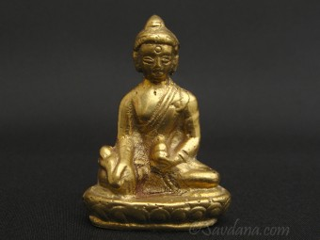 St82 Statue Bouddha Bronze