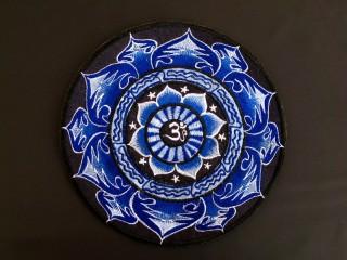 PB53 Pièce Brodée Yin Yang Mandala