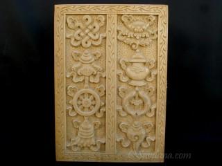 CTT46 Coffret Tibétain Signes Auspicieux du Bouddhisme