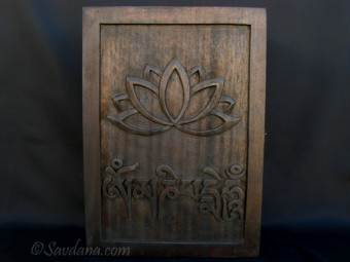 CTT49 Coffret Tibétain Mantra Fleur de Lotus