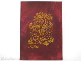 AF73 Affiche du Népal Ganesh