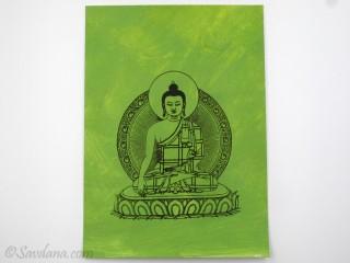 AF91 Affiche du Népal Bouddha