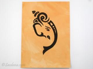 AF94 Affiche du Népal Ganesh