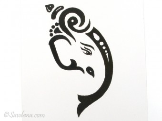 AF95 Affiche du Népal Ganesh