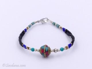 BrD185 Bracelet Tibétain