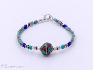 BrD187 Bracelet Tibétain