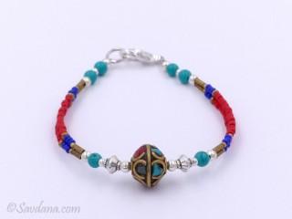 BrD188 Bracelet Tibétain