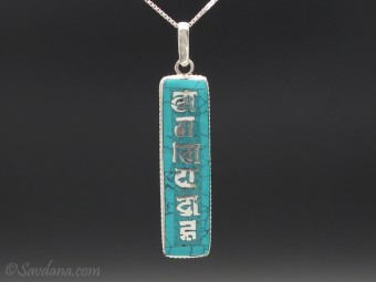 PA151 Pendentif Argent Massif Mantra